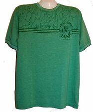 Hugo Boss Green Graphic Design Cotton Mens T- Shirt Sz 3XL NEW Green Label Shirt