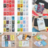 4pcs Cute RFID Blocking Sleeve Credit Card Protector Bank Card Holder for Wallet