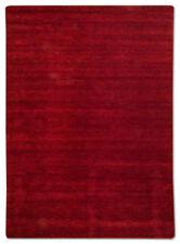 Tapis rouge pour la maison en 100% laine, 300 cm x 400 cm