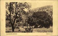 Rustenburg District Süd Afrika s/w AK ~1920/30 Landhschaftspartie ungelaufen