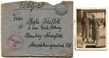 Germany 3rd REICH Feldpost Garwolin Warsaw Occupied Poland Cover Photo 1943