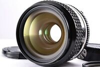 Mint Nikon Nikkor Ai-s 35mm f/2 Wide Angle Prime Lens From Japan MF 52mm AIS Cap