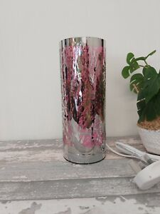 Desire LED Aroma Tree Cylinder Electric Lamp Wax Melt Oil Burner in Gift Box