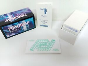 MindTrap Card Game Challenge The Way You Think Blue Opal 1993 Complete