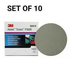 3M SET OF 10 50414 443SA HOOKIT TRIZACT DISCS 150mm P3000 10 DISCS UK STOCK !!!