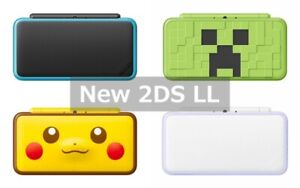 Nintendo new 2DS LL XL Console Only Used Select charger and memory Japanese only