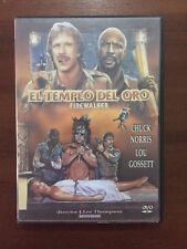 EL TEMPLO DEL ORO FIREWALKER - 1 DVD MULTIZONA 1-6 - CHUCK NORRIS EN BUEN ESTADO