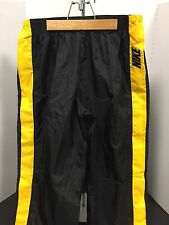 Nike Retro Nylon Tearaway Snap Button Track Pants - Mens XL