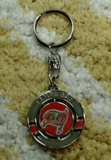 Tampa Bay Buccaneers NFL football spinner Keychain Keyring New