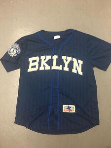 2015 Brooklyn Cyclones SGA BKYN Blue Jersey Adult XL New York Mets MiLB NEW
