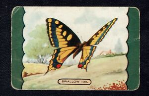 Swap Card Genuine Coles Named Swallow tail. Good.