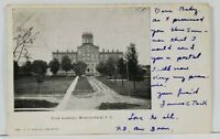 Montour Falls N.Y. Cook Academy 1905 to Mexico City NY Postcard C17