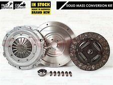 FOR PEUGEOT 207 307 1.6 HDI DUAL MASS SOLID FLYWHEEL CLUTCH KIT 110 BHP DV6TED4