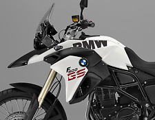 BMW F800GS BMW Side tank stickers (Black Matte)