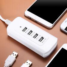 4 Multi-Port USB Desktop Charger Fast Charging Station Hub Power Adapter US