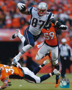 Rob Gronkowki New England Patriots 8x10 Photo