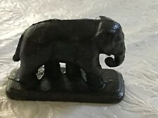 Small Vintage Cast Iron Elephant Figurine