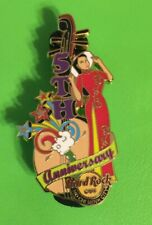Hard Rock Cafe Ho Chi Minh City 5th Anniversary Vietnamese Ao Dai Dress Girl Pin