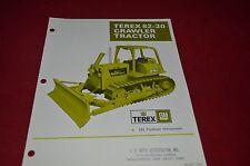 Terex 82-20 Crawler Tractor Dozer Dealer's Brochure DCPA6