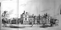 Antique Print Builder 1897 Architecture Technical Institute West Ham Hall 19th