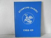 1988-89 Richmond Elementary School Yearbook - Richmond Raiders - Richmond, Ohio