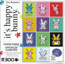 Jim Benton's  it's happy bunny  300 pieces collectors poster puzzle - Sure-Lox