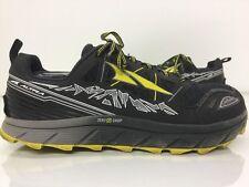 Altra Men's Lone Peak 3.0 Trail Running Black/Yellow Shoes Size 11
