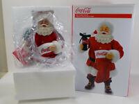 Coca-Cola  Kurt Adler Fabriche Santa with Coke and Stocking- BRAND NEW