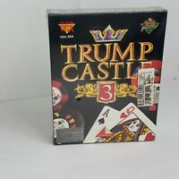 TRUMP CASTLE 3  (Retail Box Version)  Capstone   CD-ROM  MS-DOS    NEW
