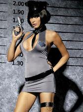 Intimo Sexy Costume Abito Da Poliziotta Obsessive Lingerie taglia LXL 46/48