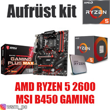 PC Bundle Kit Set ❤ AMD Ryzen 5 2600 Prozessor ✔ MSI B450 Mainboard ✔