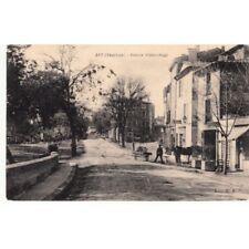 Cartes postale anciennes APT avenue Victor Hugo écrite 1915