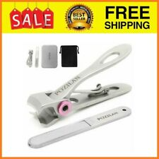Nail Clippers Professional Stainless Steel Toenail for,Thick Nails Large Finger