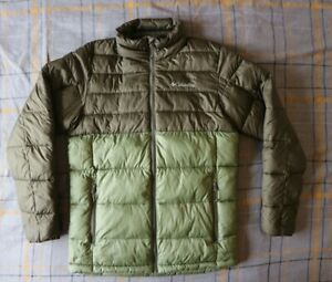 Men's Columbia Down Insulated Jacket Small