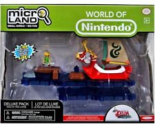 Super Mario Bros. U Micro Land King of Red Lions Deluxe Playset