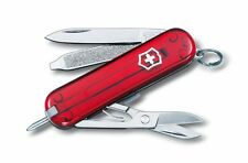 0.6225.T VICTORINOX SWISS ARMY POCKET KNIFE SIGNATURE RUBY RED 54091 z
