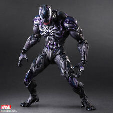 "Marvel Universe Play Arts Kai Venom Action Figure toys 10"" PVC Statue New in box"