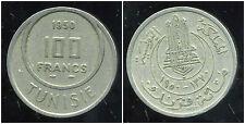 TUNISIE 100 francs  1950  ( protectorat francais )