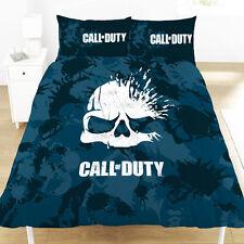 Call of Duty Broken Skull Double Duvet Cover Set Bedding Camo - 2 Designs in 1