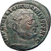 LICINIUS I Constantine the Great enemy 311AD Ancient Roman Coin Jupiter i73622