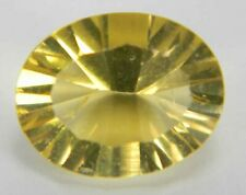 2.00 Carats Natural Yellow Fluorite Faceted Gemstone Oval YFL02