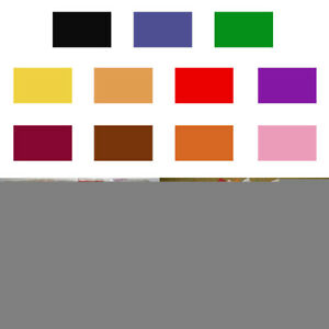 11 Colors Tie Dye Powder Kit Textile Paint One Step Pigment Craft Suppplies DIY