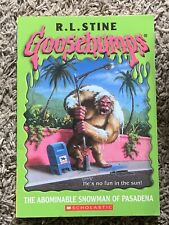 Goosebumps #38 The Abominable Snowman of Pasadena by R.L. Stine