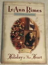 Holiday in Your Heart by Leann Rimes and Tom Carter (1997, Hardcover) GOOD COND.
