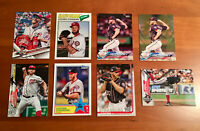 Stephen Strasburg 10 Card Lot with Gold #'d and Inserts Washington Nationals