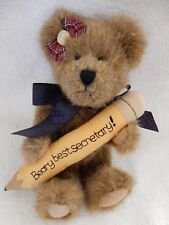Boyds Bears plush Miss Hathabeary Looks Great w/ tags 903018 Great Looking Euc