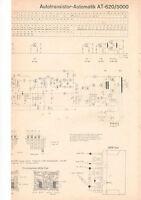 Schaltbild Autotransistor-Automatic AT-620/5000  B742