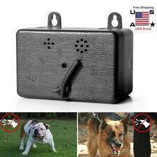 Mini Outdoor Dog Pet Anti Barking Device Ultrasonic Control Training Silencer US