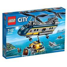 LEGO CITY DEEP SEA EXPLORERS ELICOTTERO DI SALVATAGGIO 7-12 ANNI       ART 60093
