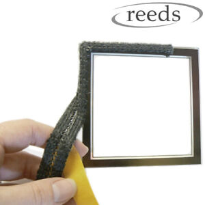 Ladder Stove Rope Glass Gasket Fire Flat Tape 17mm Wide x 2mm Self Adhesive